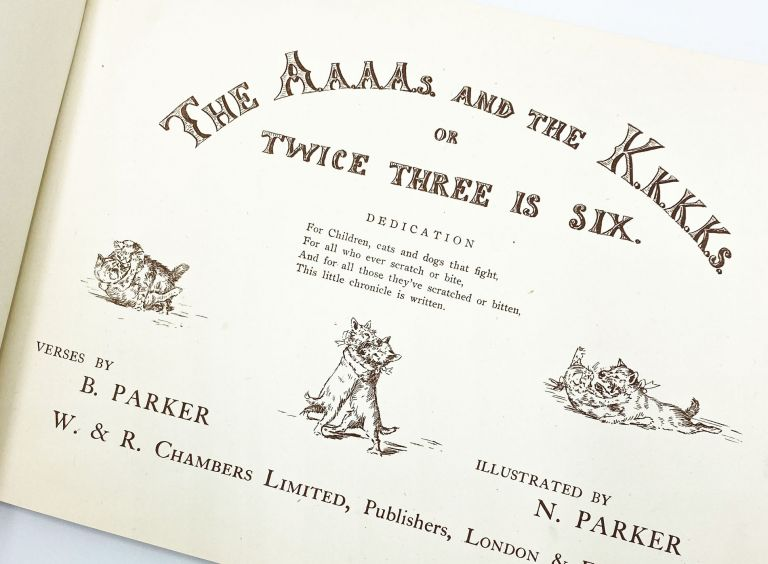 THE A'S AND THE K'S OR TWICE THREE IS SIX