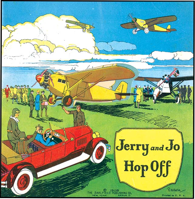 JERRY AND JO HOP OFF