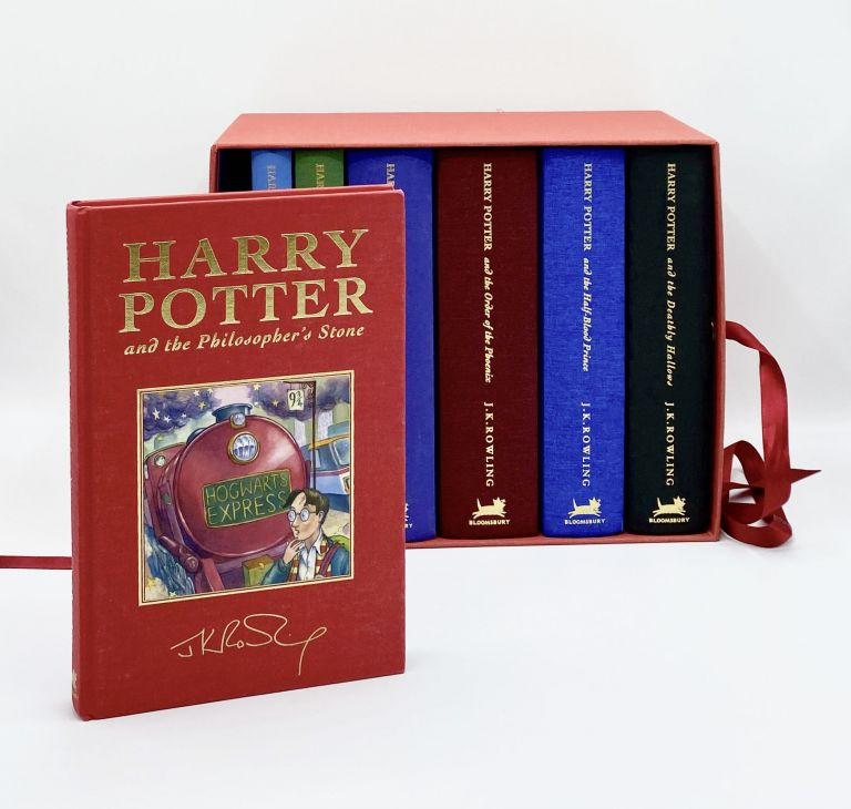 Harry Potter Series: Complete Set of Deluxe Editions