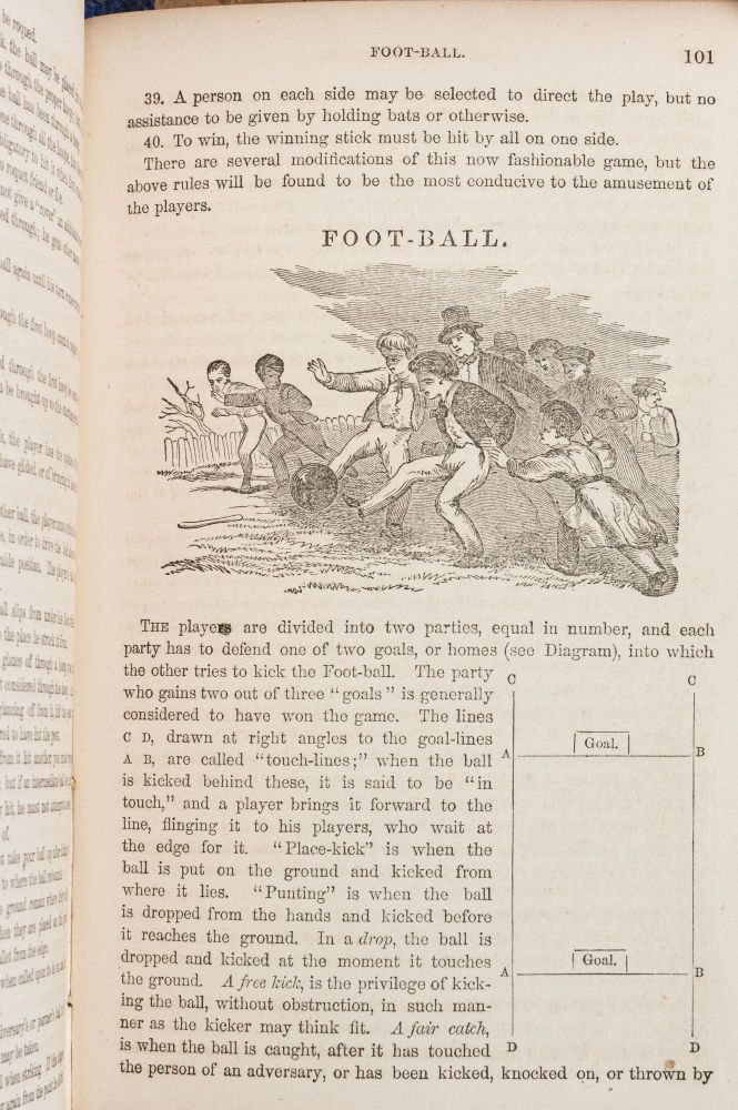THE PLAY GROUND; OR, OUTDOOR GAMES FOR BOYS