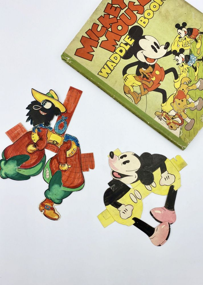 MICKEY MOUSE WADDLE BOOK