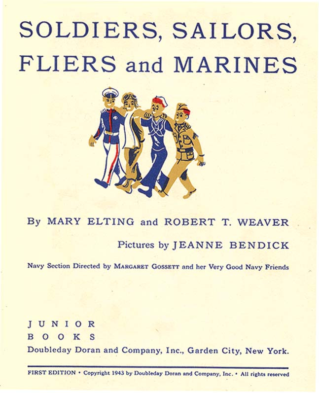 SOLDIERS, SAILORS, FLIERS AND MARINES