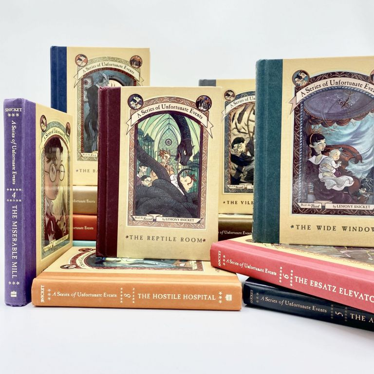 Complete SERIES OF UNFORTUNATE EVENTS [with:] LEMONY SNICKET: THE UNAUTHORIZED AUTOBIOGRAPHY