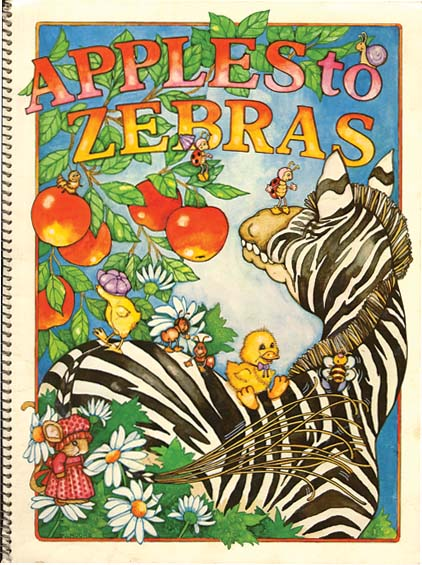 APPLES TO ZEBRAS. Janie Moore.