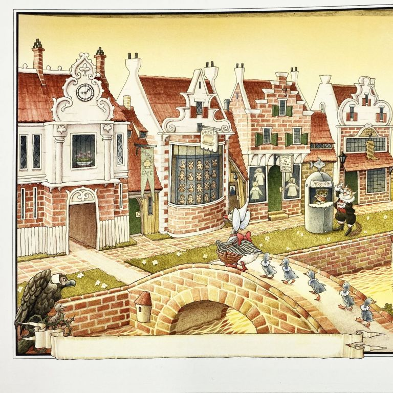 Original art from MOTHER GOOSE AND THE SLY FOX