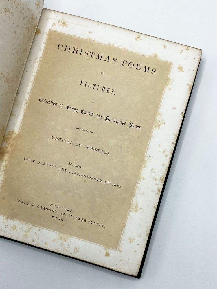 """CHRISTMAS POEMS AND PICTURES [With """"Twas The Night Before Christmas""""]"""