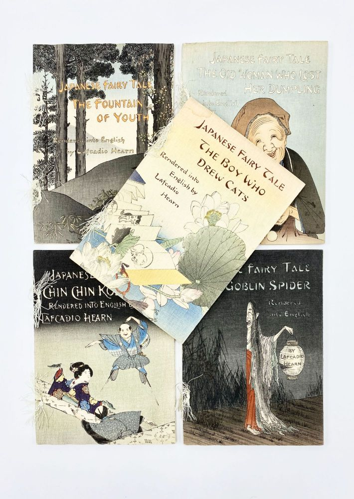 "JAPANESE FAIRY TALES [including ""The Boy Who Drew Cats,"" ""The Goblin Spider,"" ""The Old Woman Who Lost Her Dumpling,"" ""Chin-Chin Kobakama,"" and ""The Fountain of Youth""]"