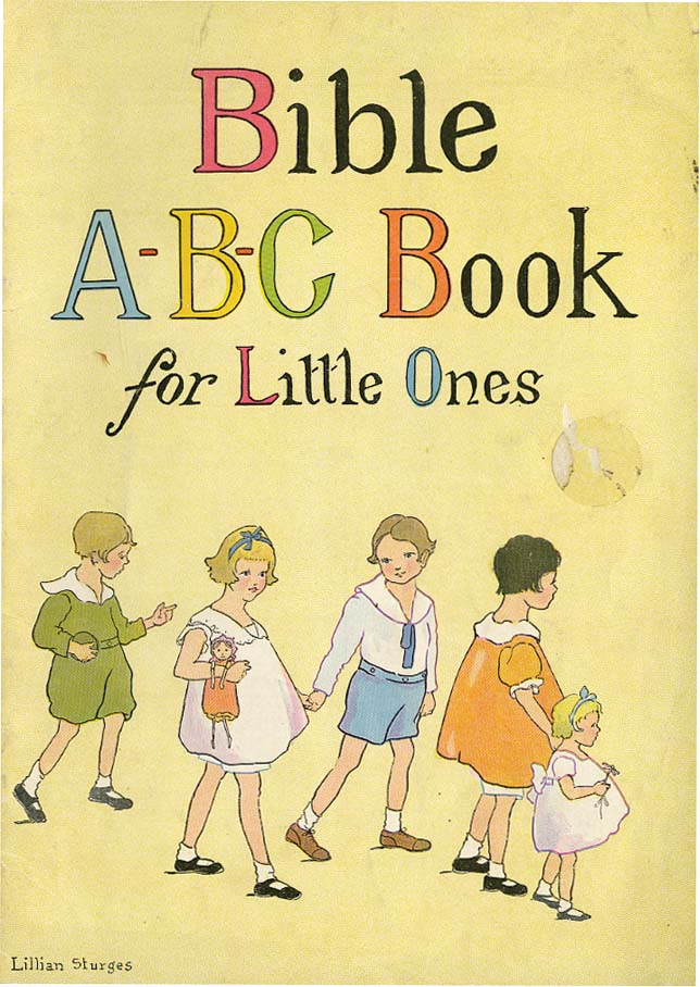 BIBLE A B C BOOK FOR LITTLE ONES