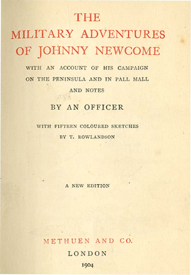 MILITARY ADVENTURES OF JOHNNY NEWCOME