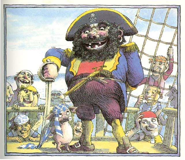 PIGWIG AND THE PIRATES