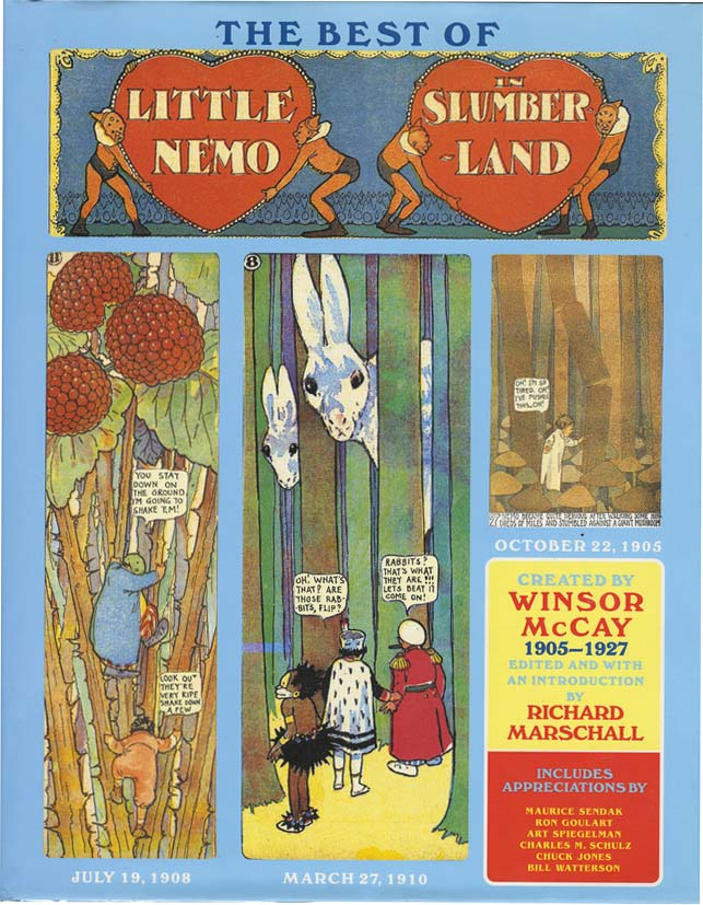 BEST OF LITTLE NEMO IN SLUMBER LAND. Winsor McCay, Maurice Sendak, Charles Schulz, Art Spiegelman, Chuck Jones.