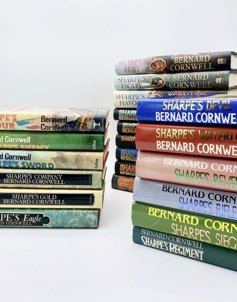 The Sharpe Series [including SHARPE'S EAGLE, SHARPE'S GOLD, SHARPE's COMPANY, and more]