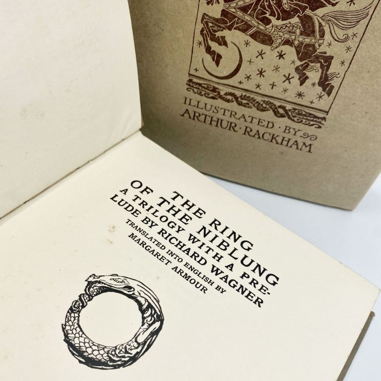 THE RING OF NIBLUNG [THE RHINEGOLD & THE VALKYRIE; SIEGFRIED & THE TWILIGHT OF THE GODS]
