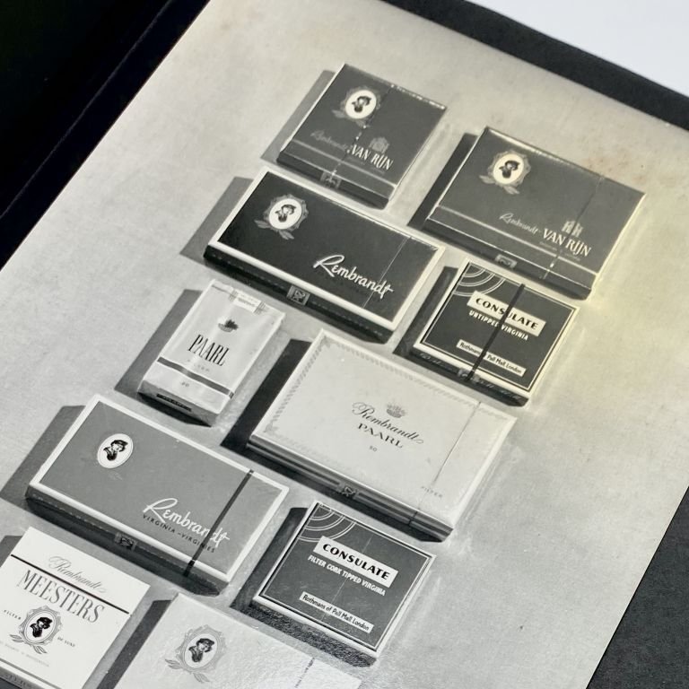 Photo Album of Tobacco Industry Packaging