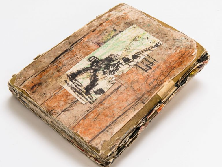 """""""People Whit Something To Do"""" (Original Altered Book)"""
