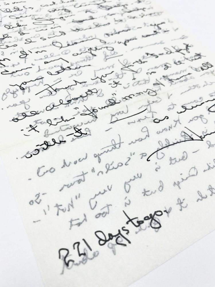 Two Autograph Signed Letters