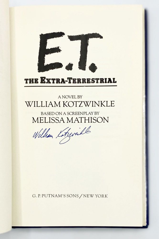 E.T. The Extra-Terresrial