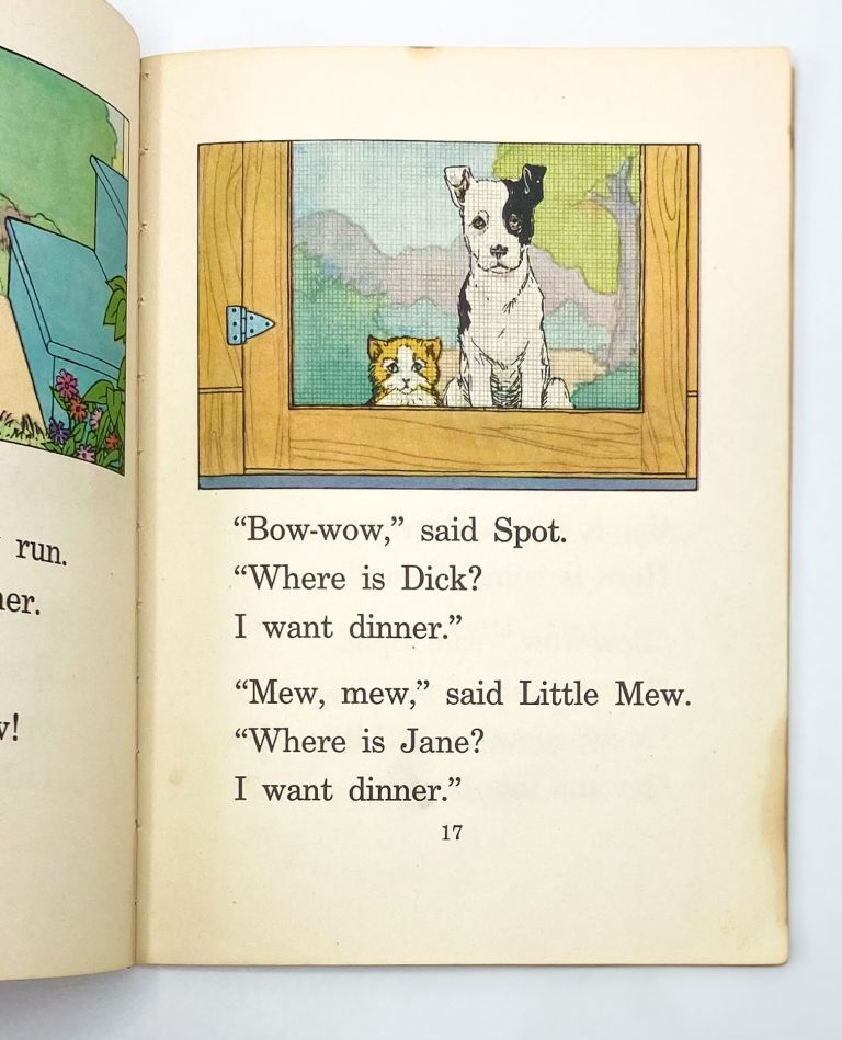 ELSON BASIC READERS PRE-PRIMER [with Dick and Jane]
