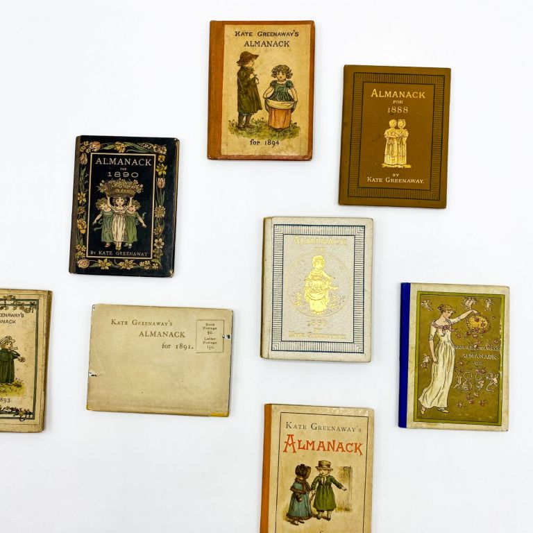 Collection of 15 Illustrated Almanacks