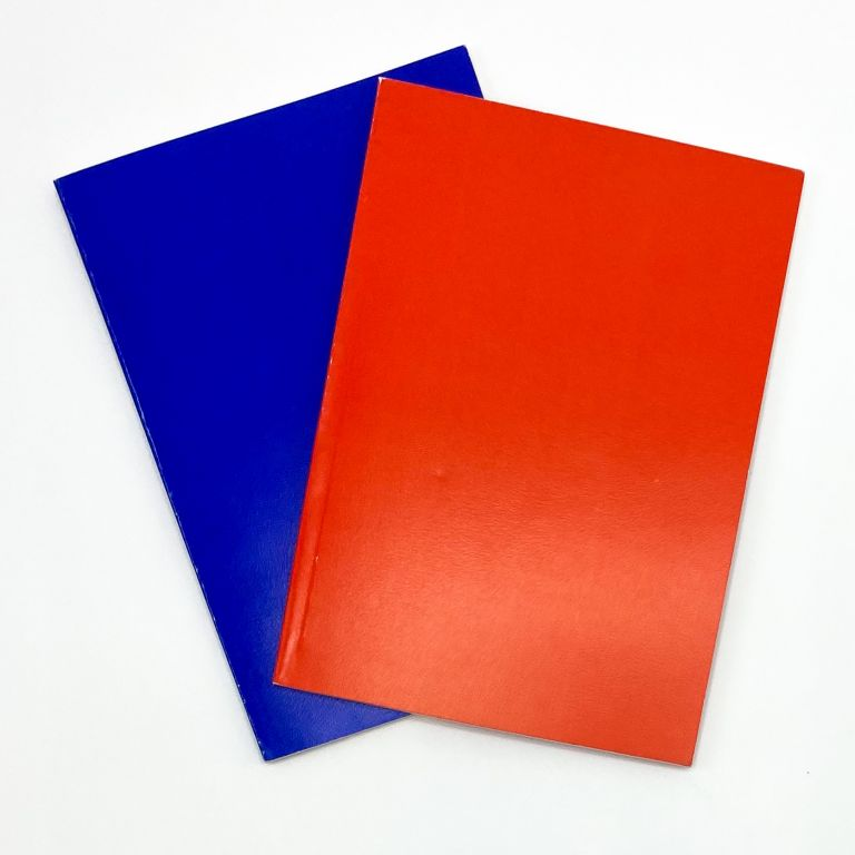 UNTITLED [Card Books: Red/Blue]