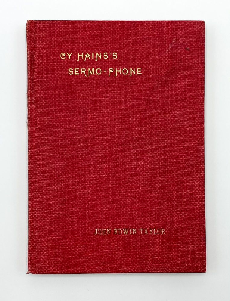 CY HAINS'S SERMO-PHONE AND OTHER STORIES