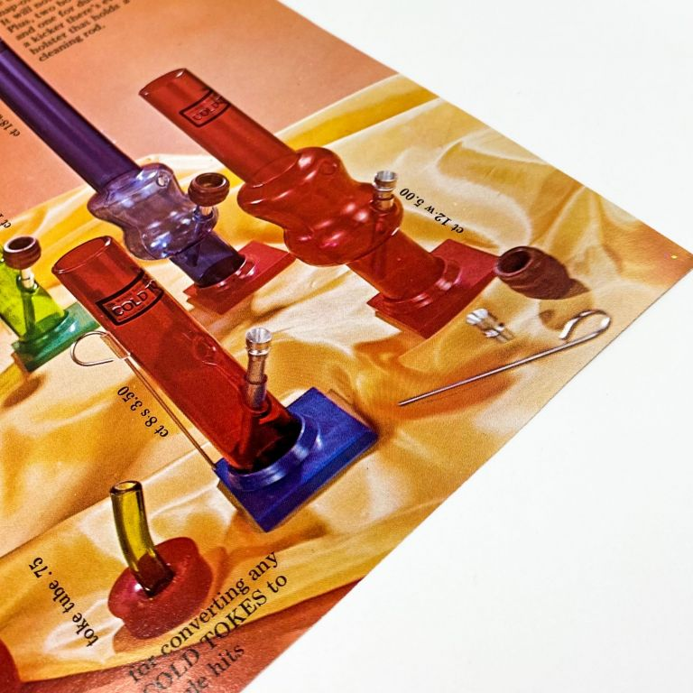 COLD TOKES [Advertising Material for a Line of Water Pipes]
