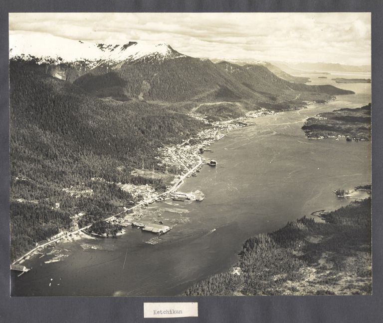 [Album of Aerial and Cultural Photographs]
