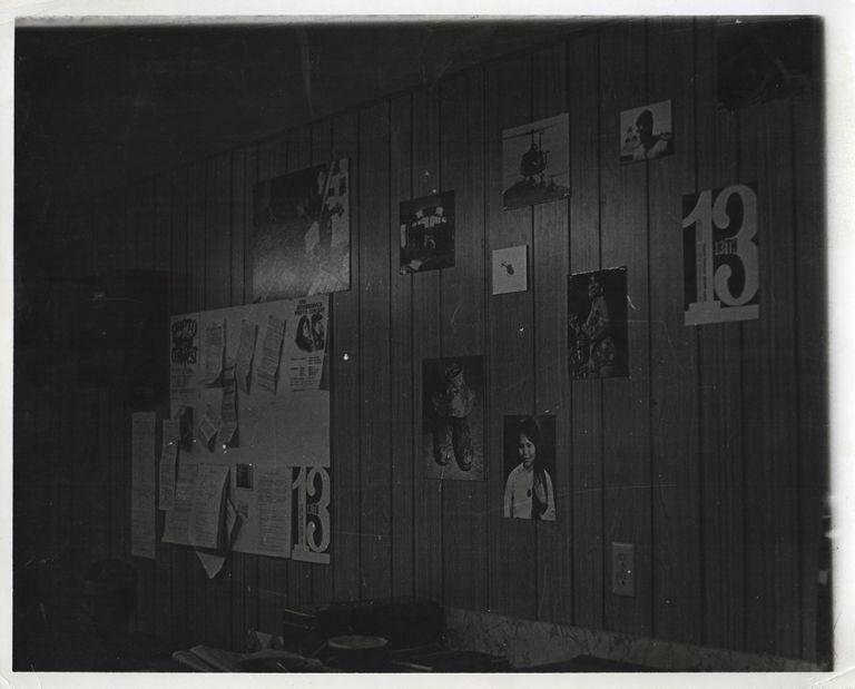 [Small Photograph Archive of a Soldier's Lounge]