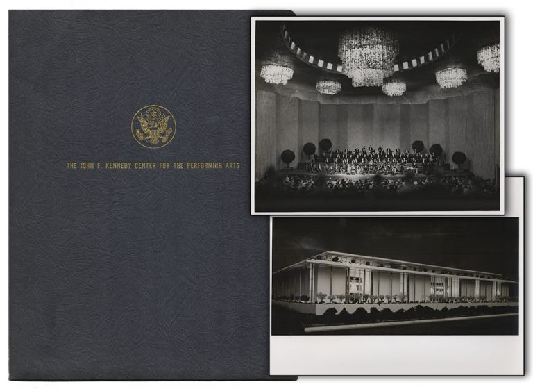 [Original Press Kit from the Ground-Breaking Ceremony for the John F. Kennedy Center for the Performing Arts]