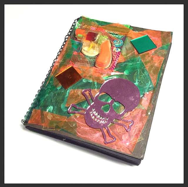 [Original Handmade Artist's Book of Collages & Assemblages]