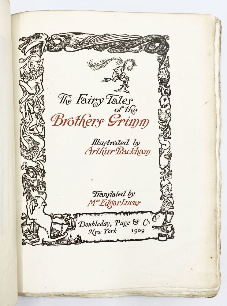 FAIRY TALES OF THE BROTHERS GRIMM
