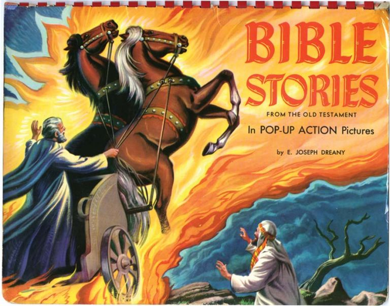BIBLE STORIES FROM THE OLD TESTAMENT. E. Joseph Dreany.