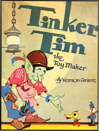TINKER TIM THE TOY MAKER