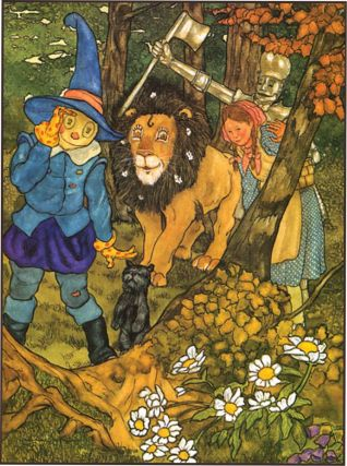 THE WIZARD OF OZ. L. Frank Baum, Michael Hague