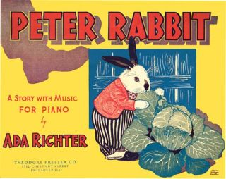 PETER RABBIT : A STORY WITH MUSIC FOR PIANO