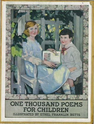ONE THOUSAND POEMS FOR CHILDREN