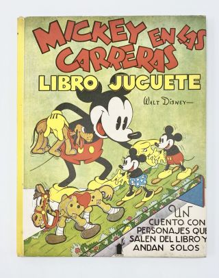MICKEY EN LAS CARRERAS [MICKEY MOUSE WADDLE BOOK