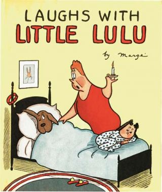 LAUGHS WITH LITTLE LULU