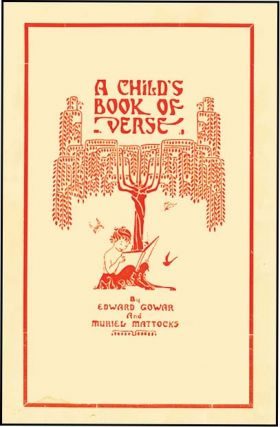 CHILD'S BOOK OF VERSE