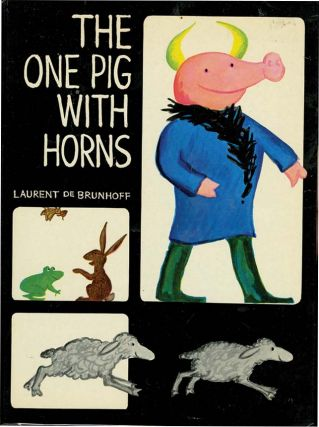 ONE PIG WITH HORNS