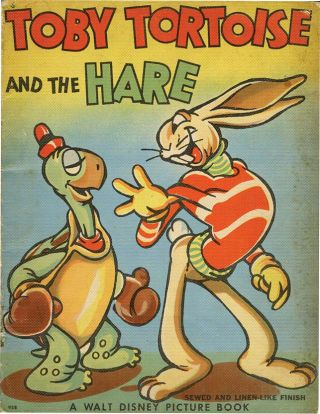 TOBY TORTOISE AND THE HARE