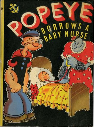POPEYE BORROWS A BABY NURSE