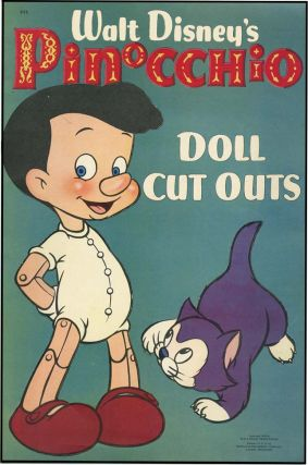 WALT DISNEY'S PINOCCHIO DOLL CUT OUTS