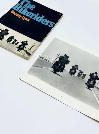 THE BIKERIDERS with an Original Vintage Print