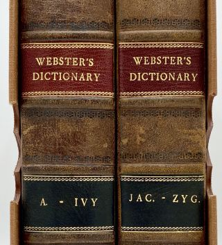 AN AMERICAN DICTIONARY OF THE ENGLISH LANGUAGE. Noah Webster