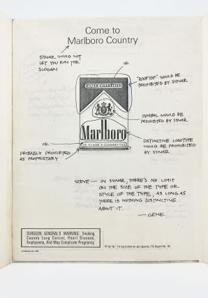 Archive of Tobacco Industry Lobbying Materials. Fred Panzer
