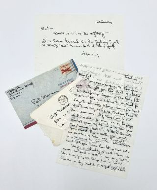 Two Autograph Signed Letters. Harvey Milk